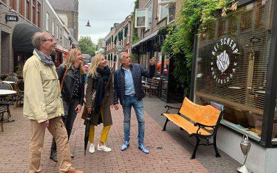 Team van VOLOP Den Bosch krijgt rondleiding
