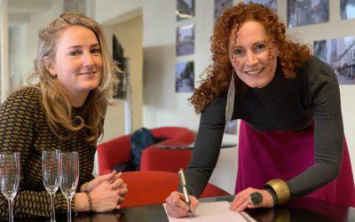 Professioneel modeontwerpster Rianne van der Steen inspireert met bijzondere mode